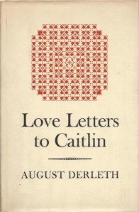 Cover to the rare book Love Letters to Caitlin