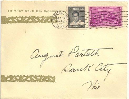1939 Cinderella Stamp (Dec. 16)