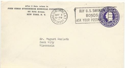 Guggenheim envelope